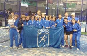 Club de Tenis Chamartín, equipo campeón femenino 2013