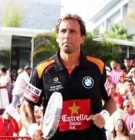"""Hernán """"Bebe"""" Auguste en un partido de 2012"""