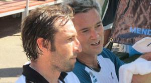 Maxi Grabiel y Miguel Lamperti en 2012