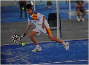 Josete Rico Dasí en un partido