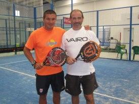 Máximo Castellote con Jorge Nicolini