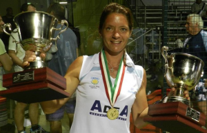 Paula trofeo campeon mundo